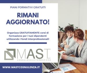 mast consulenze I Fondi interprofessionali